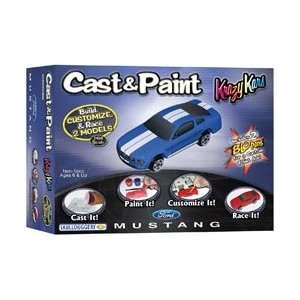 Cast & Paint Kit Ford Mustang Toys & Games