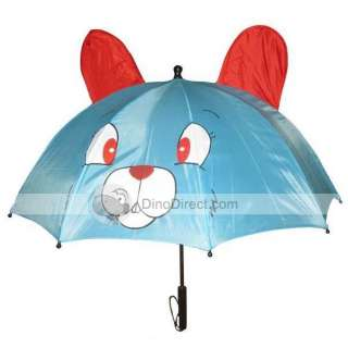 Wholesale Lovely Children Cartoon Cat Style Anti UV Long Handle Sun