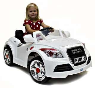 Rocket Cabriolet Kids Electric Battery Ride on 6v Car   Audi Style