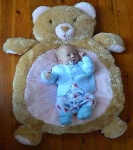 Bear Rug Mat   BNWT   Newborn Baby Shower Gift   Girl or Boy