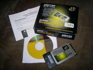 Wireless WiFi Card AirDash™ Wifi Wireless Laptop Card 802.11b