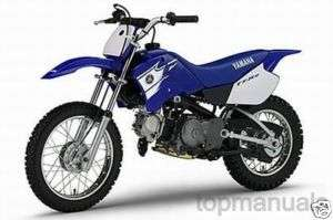 MANUAL TALLER YAMAHA TTR 90 WORKSHOP TT R90 MANUALE
