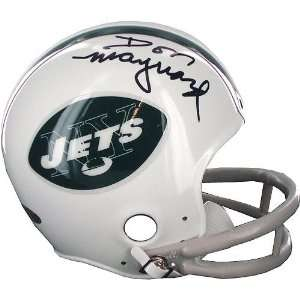 Don Maynard Jets Mini Helmet Sports & Outdoors