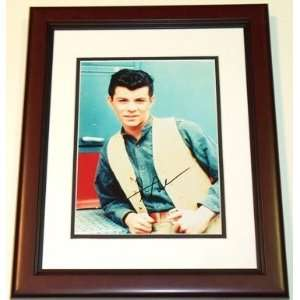 Frankie Avalon Autographed 8x10 Photo MAHOGANY CUSTOM