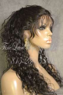 Indian Remy Full Lace Natural Curl Texture  Free Glueless Service