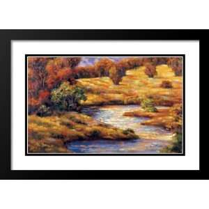 Valley III 33x45 Framed and Double Matted Art Print by Martin Mark