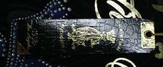 Christian Audigier platinum Roses Skull Stones T Shirt bandit skull