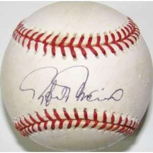 Rafael Palmeiro SIGNED Autographed Game Used MLB Baseball ORIOLES
