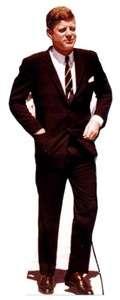 PRESIDENT KENNEDY JFK LIFESIZE CARDBOARD CUTOUT STANDUP
