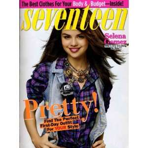 Seventeen Magazine, September 2009   Selena Gomez Various Books