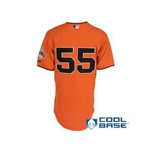 Francisco Giants Authentic Tim Lincecum Alternate Cool Base Jersey 40