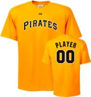 Pittsburgh Pirates T Shirt Any Player Cooperstown Name and Number T