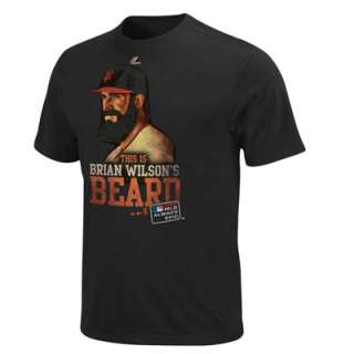 Brian Wilson San Francisco Giants Black Youth Always Epic T Shirt