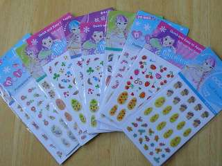ark med Nageldekorationer   Nail Art Stickers på Tradera. Stickers