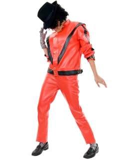 Michael Jackson Red Leather Adult Jacket