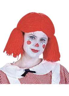 Girl Rag Doll Wig  Cheap Clown Wigs Halloween Costume for Hats, Wigs