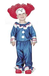 Toddler Bozo Clown Costume   Clown Costumes