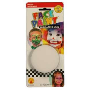 Halloween Costumes Clown White Face Paint