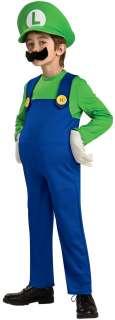Deluxe Luigi Kids Costume  Super Mario Luigi Costume