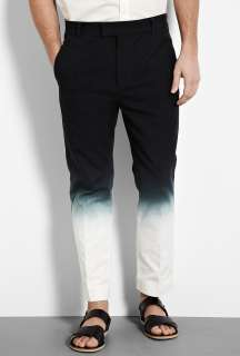 Phillip Lim  Black Dip Dyed Canvas Trousers by 3.1 Phillip Lim