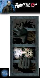 Jason Voorhees Wall Window Decal   Friday the 13th Props   15RU7322