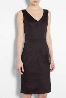 Black Ultimate Stretch Cotton Pencil Dress by D&G