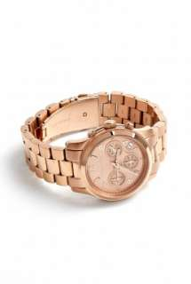 Michael Kors Watches  Rose Gold Chronograph Watch by Michael Kors