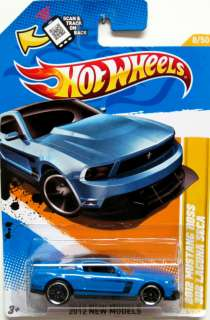 2012 Ford Mustang BOSS 302 Leguna Seca Hot Wheels 2012 New Models #8