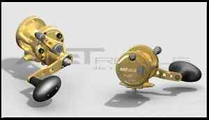 AVET SX 5.3 MC CAST Fishing Reel (Gold)