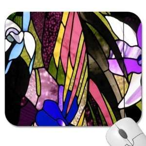 Designer Mouse Pads   Art (MPAR 015)  Stained Glass Design Home