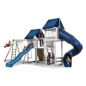 Kidwise Monkey Play Set III Wood Swing Set: Toys & Games