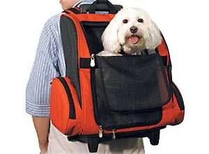 Pet Wheel Away Backpack Pet Carrier  Size MEDIUM   NAVY