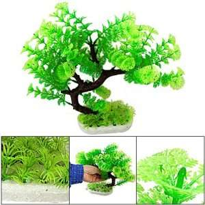 Green Aquarium Plastic Plants Water Fish Tank Ornament Pet Supplies