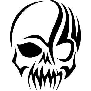 Skull Decal Wall Stickers Words Car Window Mural