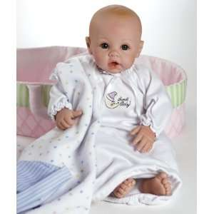 BABY  Light Skintone with Brown Eyes. INCLUDES DOLL CARRIER!!: Toys