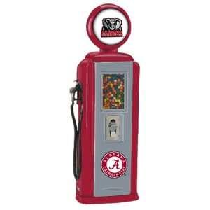 Crimson Tide Replica Gas Pump Gumball Machine