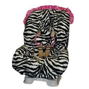 Zoe Zebra Toddler Car Seat Cover Baby
