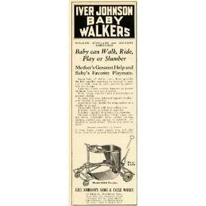 1932 Ad Iver Johnson Baby Walker Vinage 1014 raydor