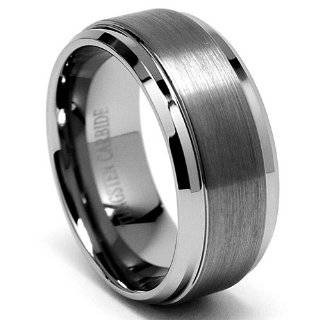 Mens Tungsten Carbide Ring Wedding Band size 7 Jewelry