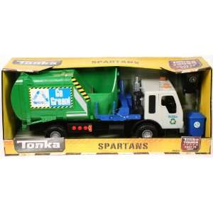 Tough Spartans Recycle Garbage Truck Battery Powered: Toys & Games