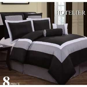 New Pink Black White Gray Bedding Suede Comforter Set Twin