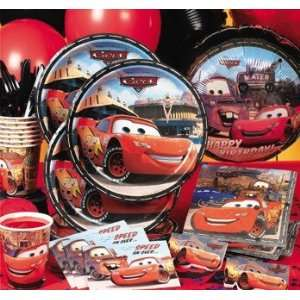 Birthday Party Supplies Theme Pack Basic Disneys Cars