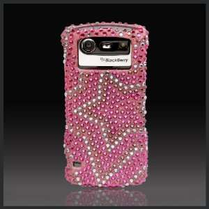Cristalina crystal bling rhinestone diamond case cover for Blackberry