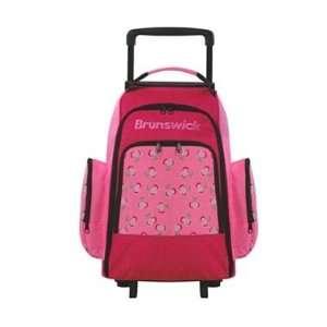 Cherries Roller Pink Cherries Bowling Bag