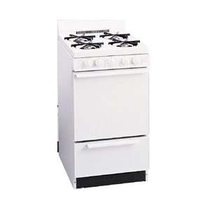 Gas Range with 4 Open Burners, 2.4 cu. ft. Manual Clean Oven, Gas