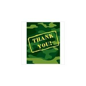 Camo Gear Thank You Notes Toys & Games