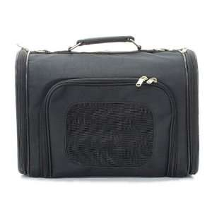Solid Black Pet Cat Dog Carrier   14 Small
