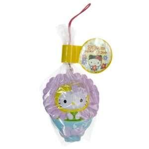 Hello Kitty ~2.25 Light Purple Flower Soft Mascot Charm