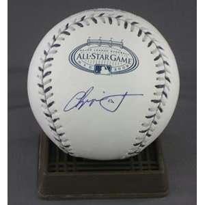 Chipper Jones Signed 2008 All Star Baseball Sports