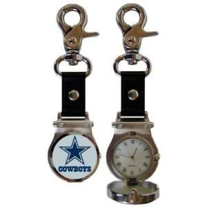 Dallas Cowboys Clip On Watch   NFL Football   Fan Shop
